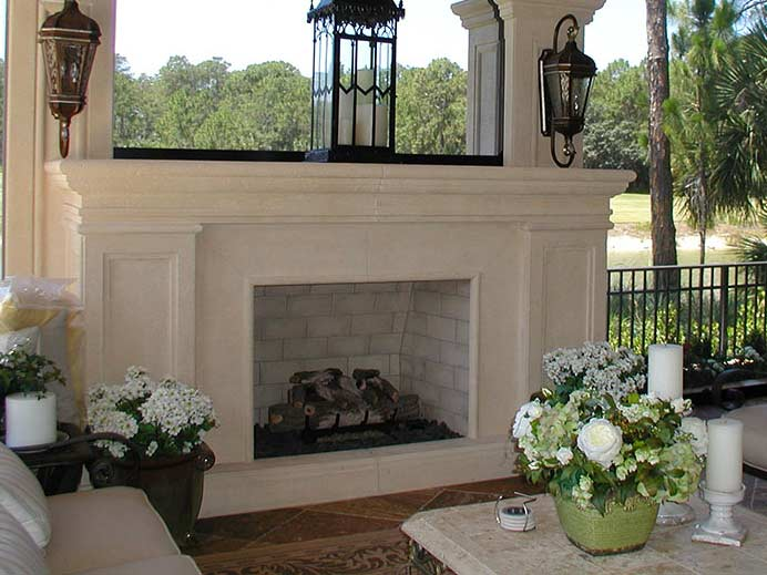 Fireplace Surround | Precast Keystone - Naples, Florida