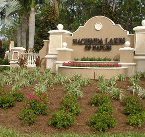 Hacienda Lakes of Naples Sign | Precast Keystone - Naples, Florida