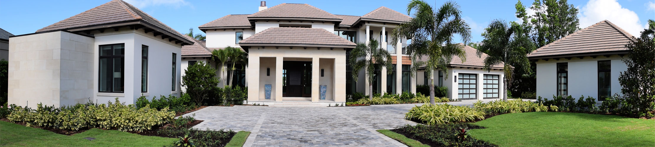Large, Beige Home | Precast Keystone - Naples, Florida