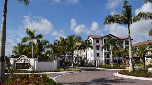 Orchid Run Apartments Entry | Precast Keystone - Naples, Florida